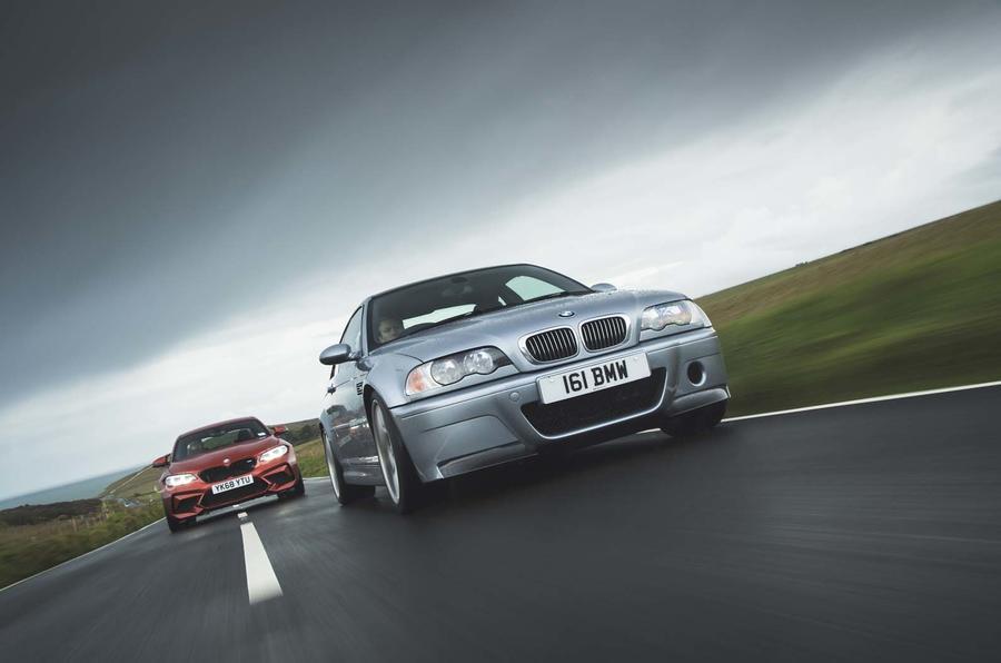 BMW M2 Competition vs BMW M3 CSL