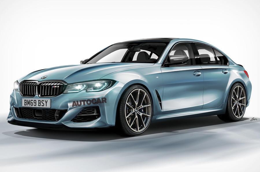 2020 BMW M3 render by Autocar