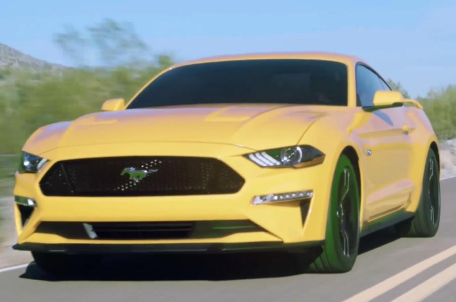 Mustang Car Shows  Uk