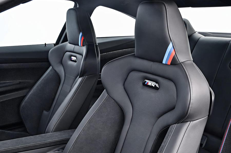 BMW M4 CS sports seats