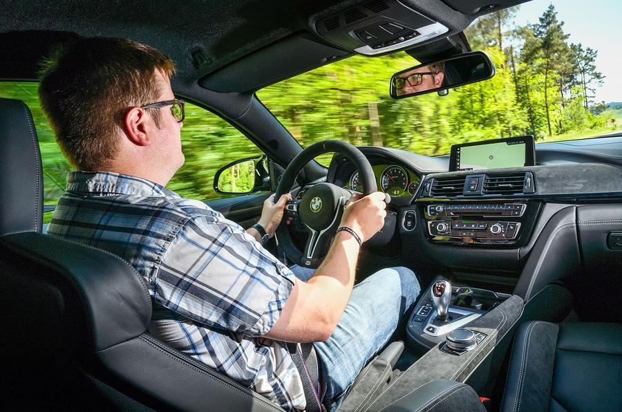 Driving the BMW M4 CS