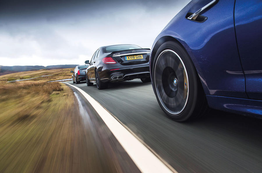 BMW M5 vs rivals