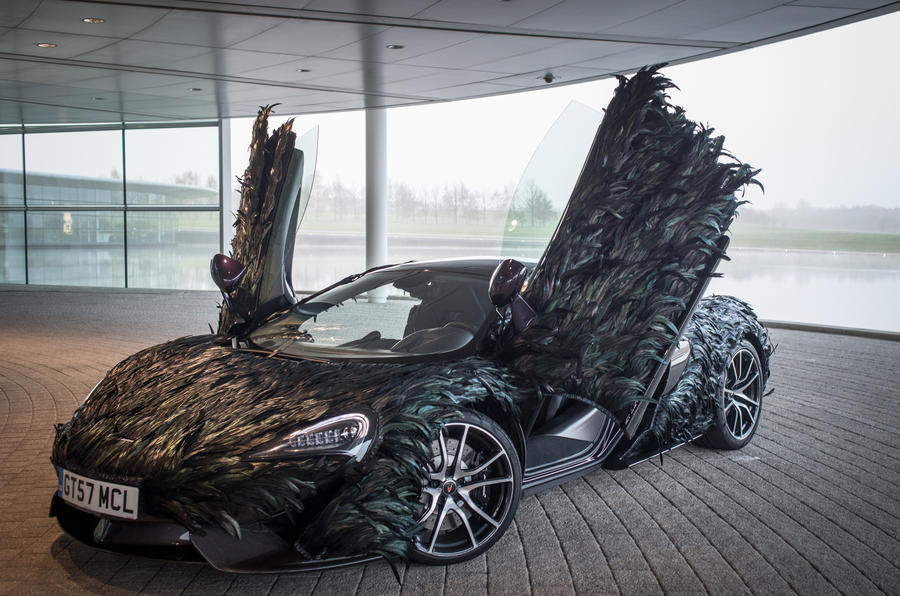 McLaren feather wrap
