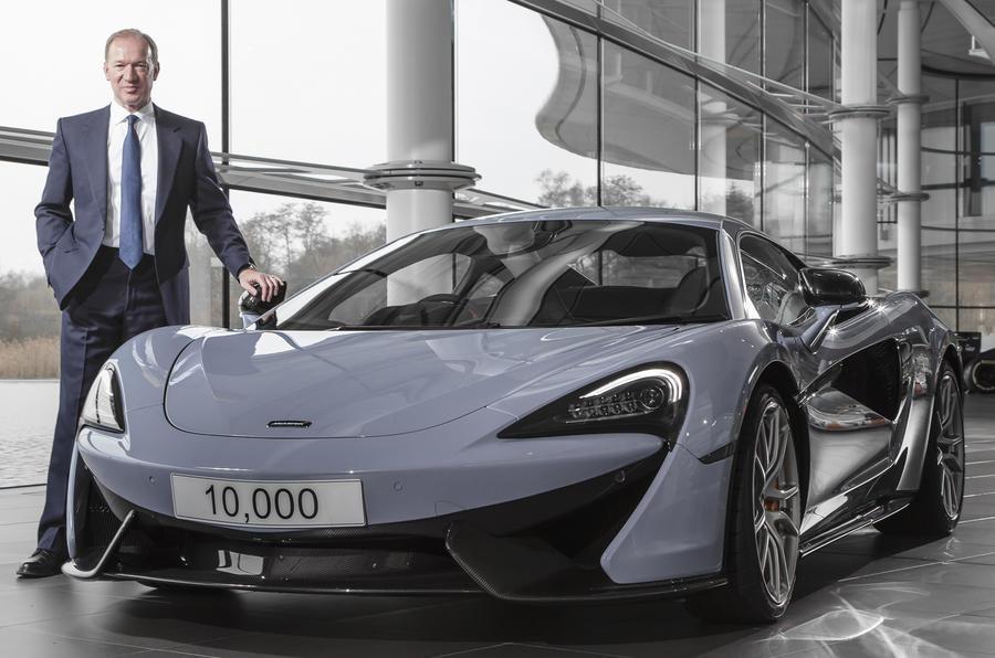McLaren CEO Mike Flewitt