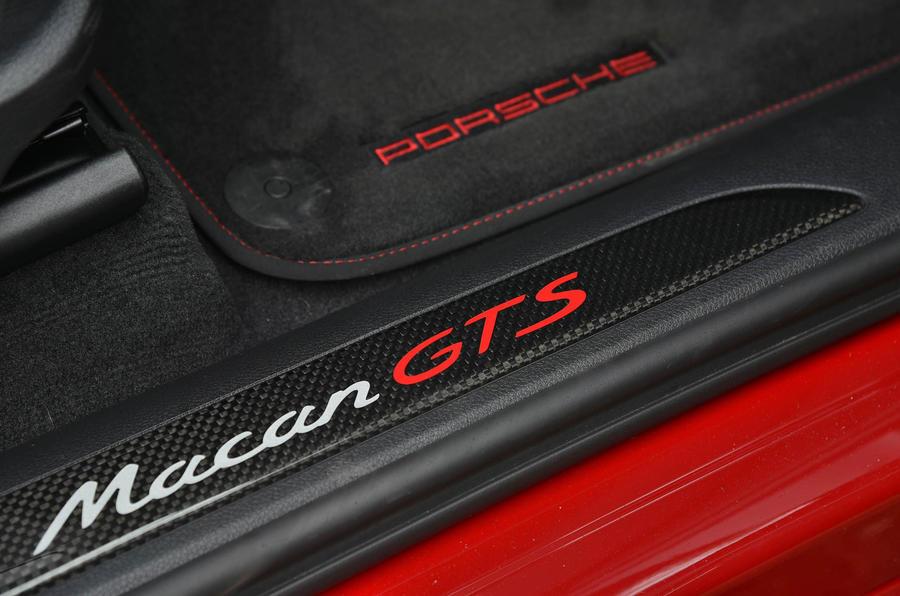 Porsche Macan GTS kickplates