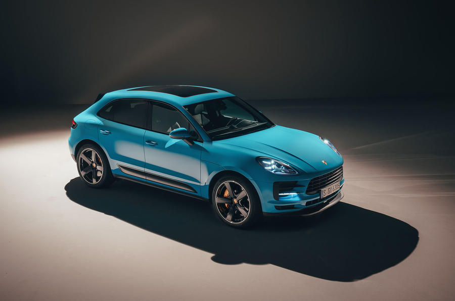 2019 porsche macan suv to cost from 46 344 autocar. Black Bedroom Furniture Sets. Home Design Ideas