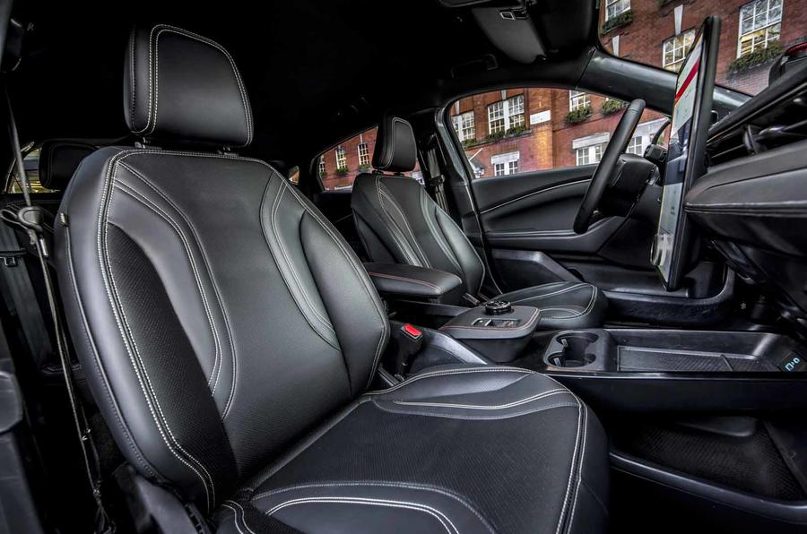 Ford Mustang Mach E  seats