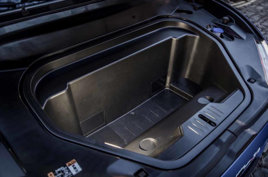 Ford Mustang Mach E frunk