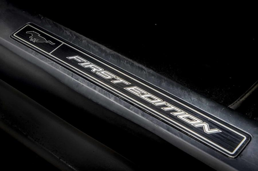 Ford Mustang Mach E sill