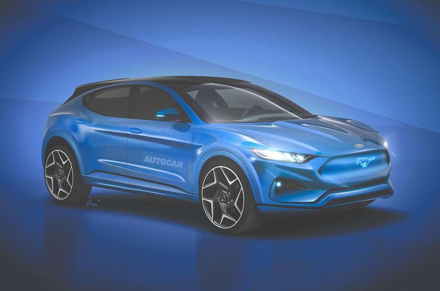 Ford Mach E render
