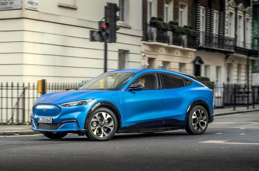 2020 Ford Mustang Mach E in London