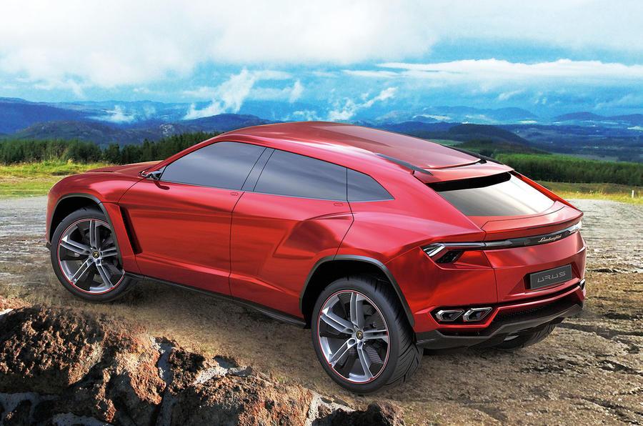 Lamborghini will make an electric plug-in version of its Urus SUV concept