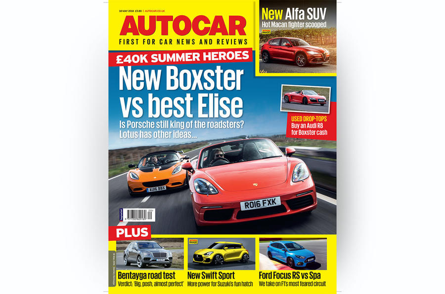 Autocar magazine 18 May – out now