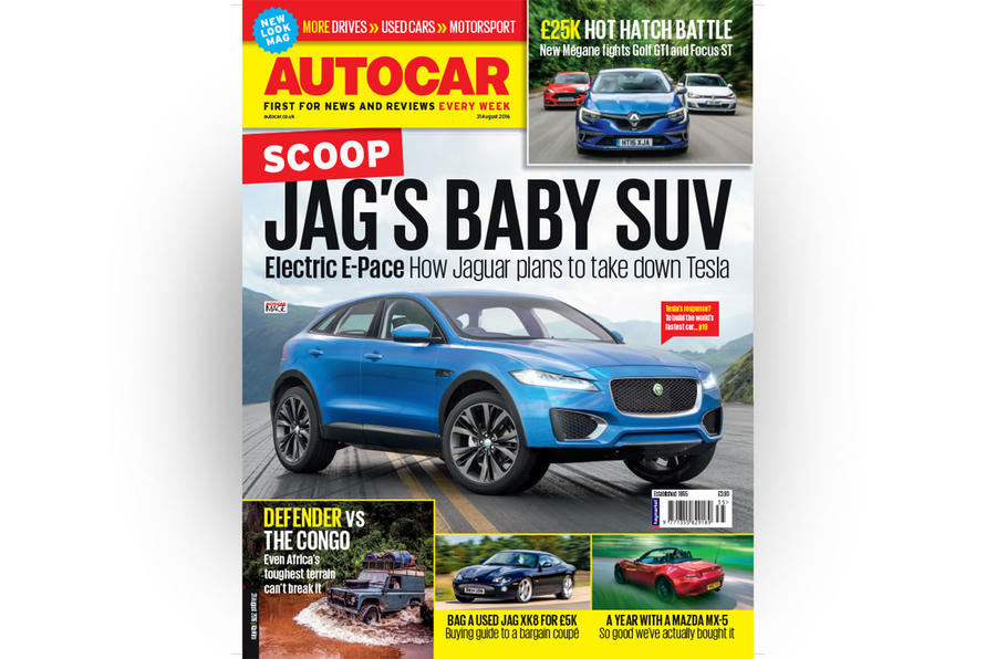 Autocar magazine 31 August - out now
