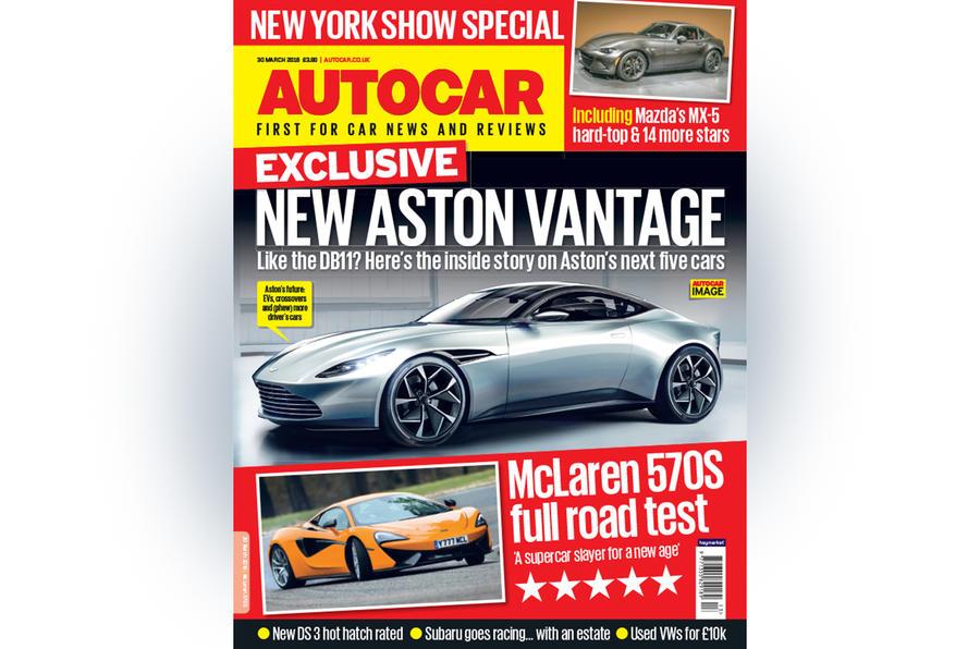 Autocar cover 30 March