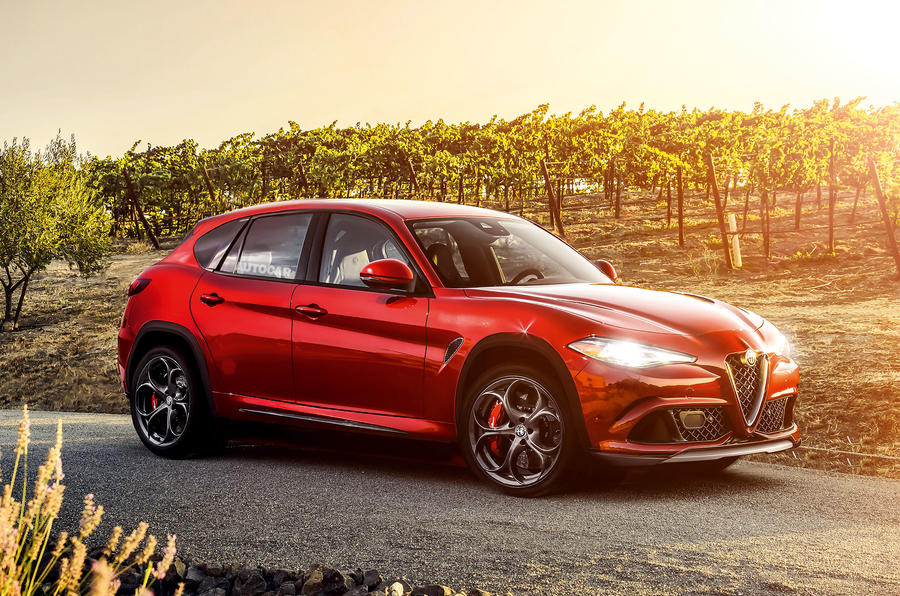 Alfa Romeo Stelvio as imagined by Autocar