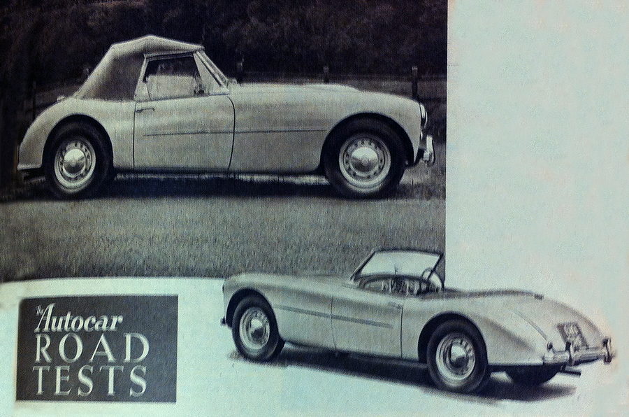 Throwback Thursday 1954 Swallow Doretti Road Test Autocar