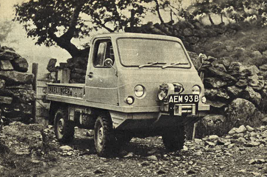 Throwback Thursday 1964 Off Road In The Steyr Puch Haflinger Autocar