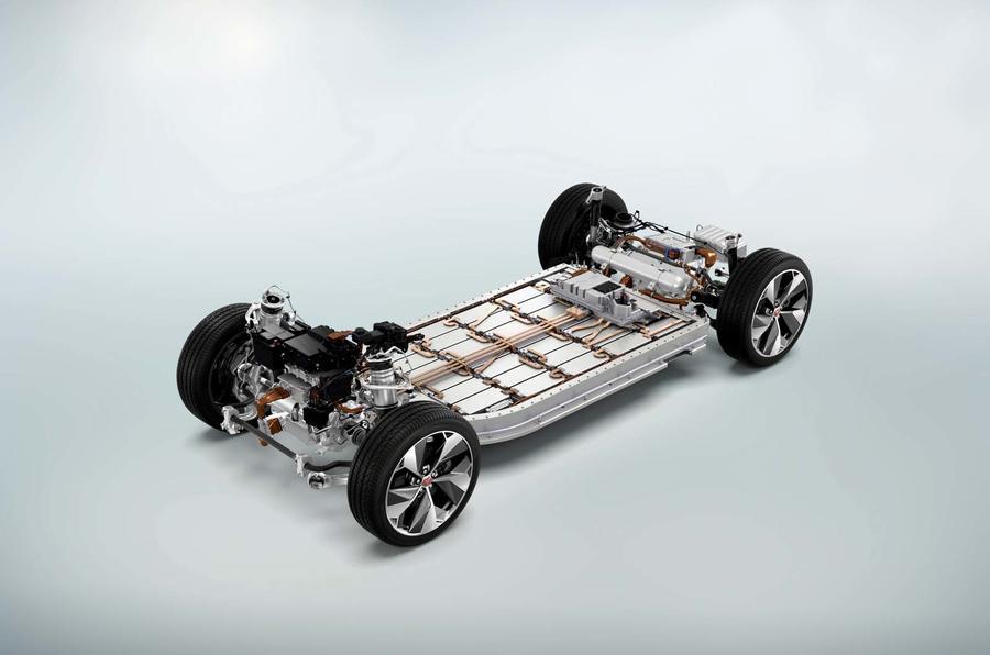 Jaguar I-Pace electric platform