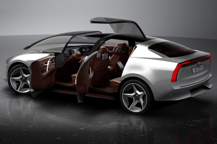 New Giugiaro Sibylla concept: EV concept fully revealed
