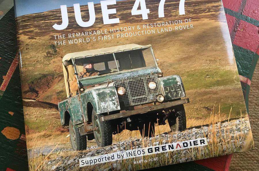 Martin Port Land Rover book