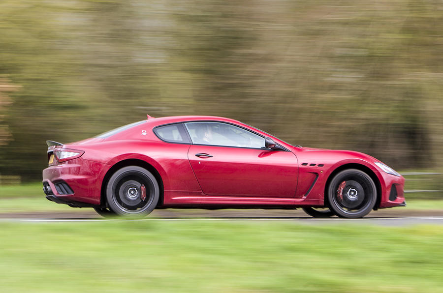 Maserati GranTurismo 2018 first drive review panning