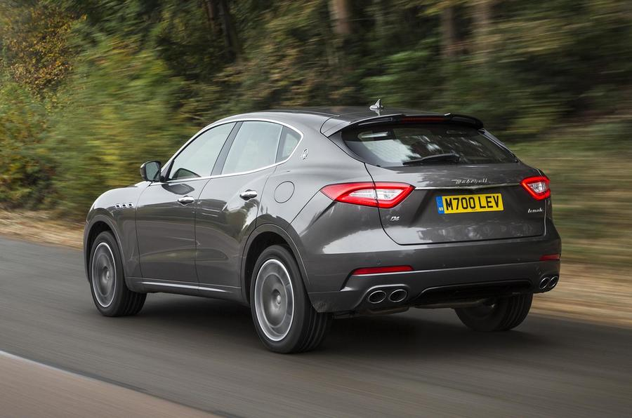2016 maserati levante diesel review review autocar. Black Bedroom Furniture Sets. Home Design Ideas