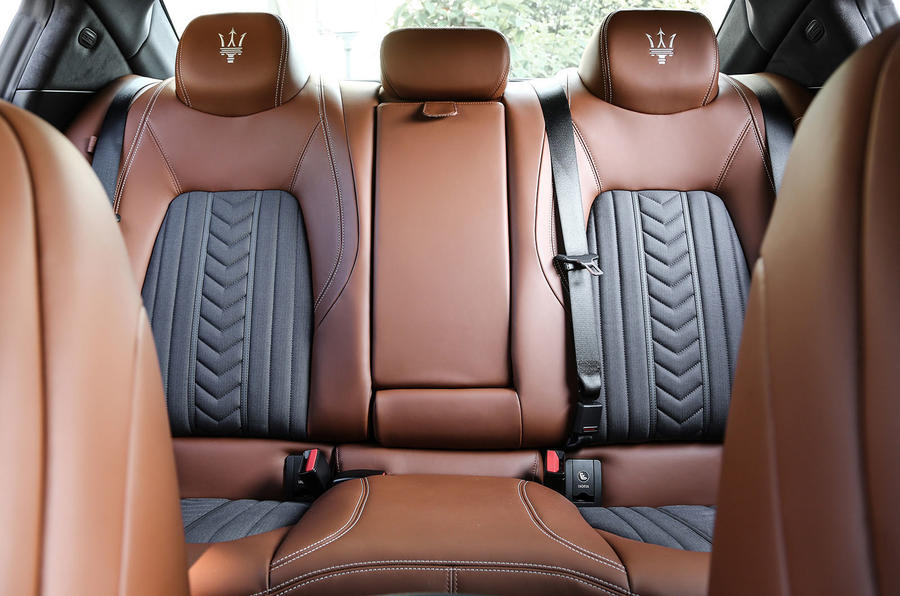 Maserati Ghibli rear seats
