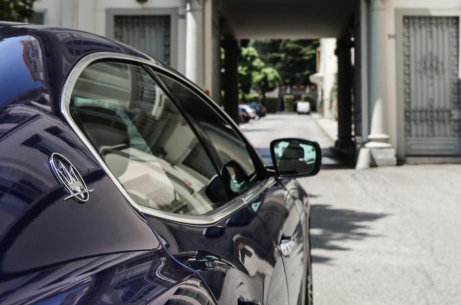 Maserati Ghibli side profile