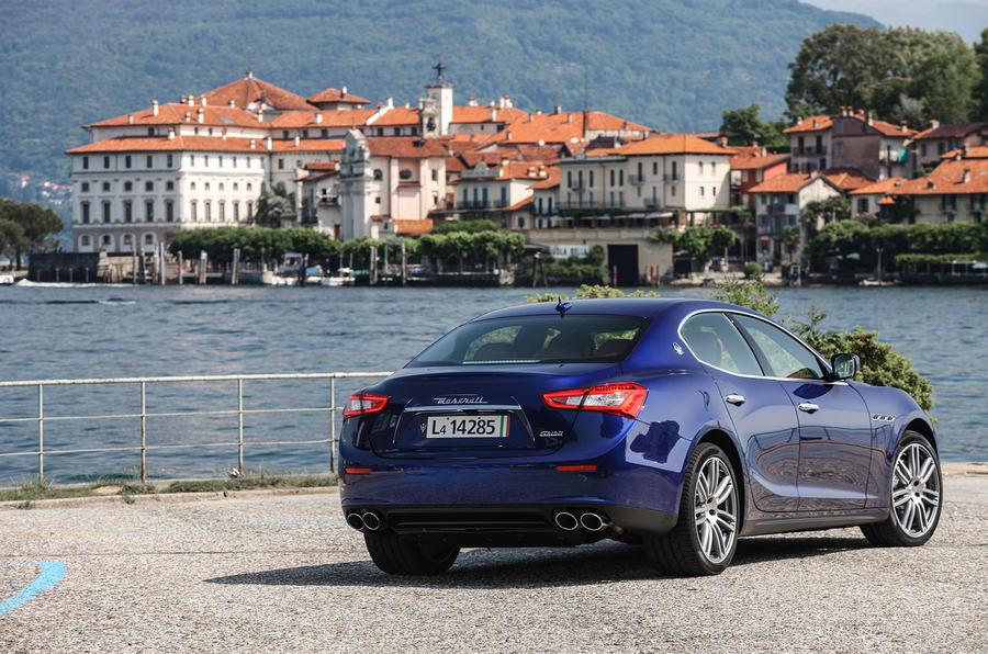 Maserati Ghibli diesel rear