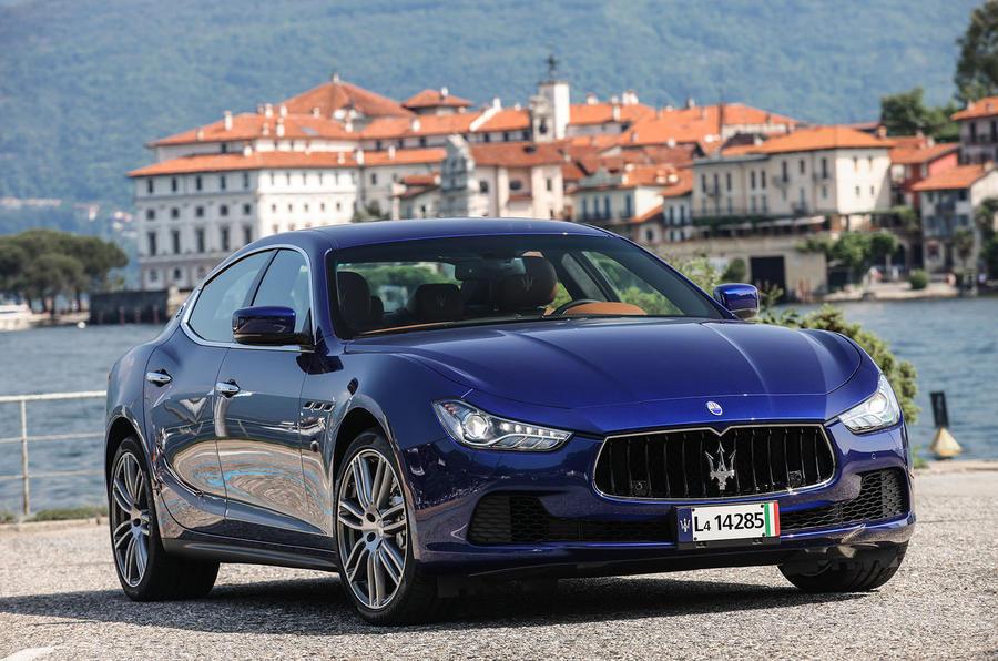 3.5 star Maserati Ghibli diesel