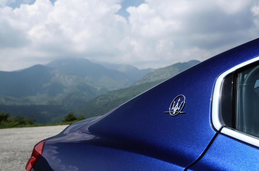 Maserati badging