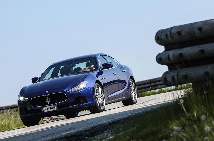 155mph Maserati Ghibli