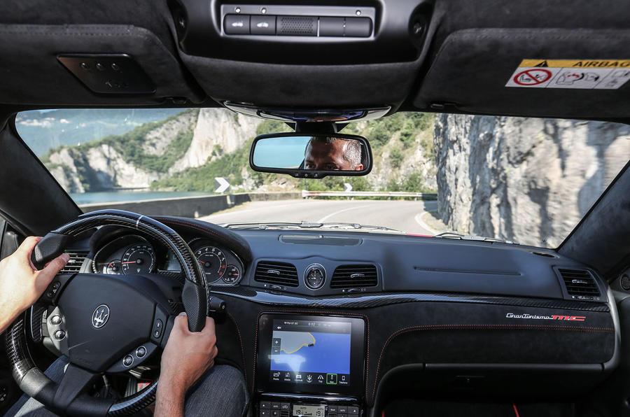 Driving the Maserati GranTurismo MC