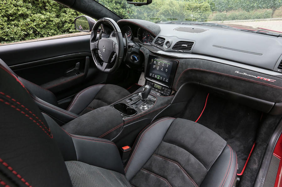 Maserati granturismo mc 2017 review autocar - Maserati granturismo red interior ...