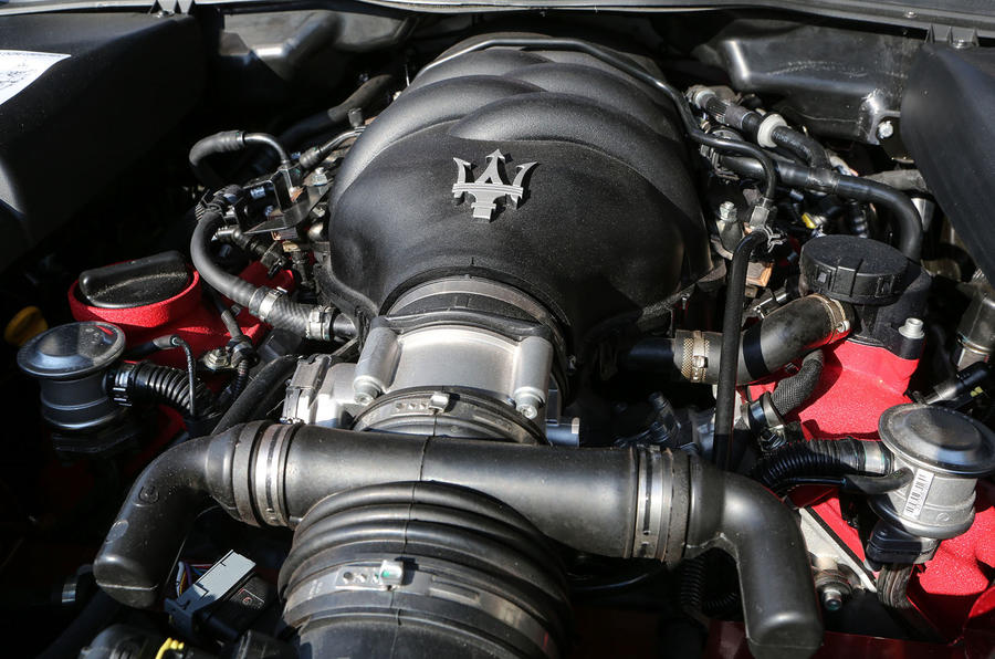 Maserati GranTurismo MC engine bay