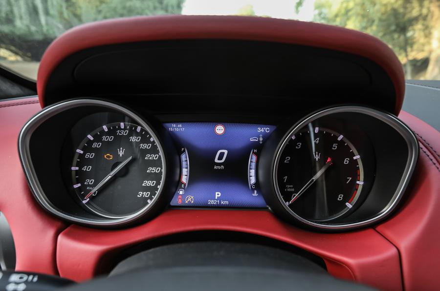 Maserati Levante S GranSport instrument cluster