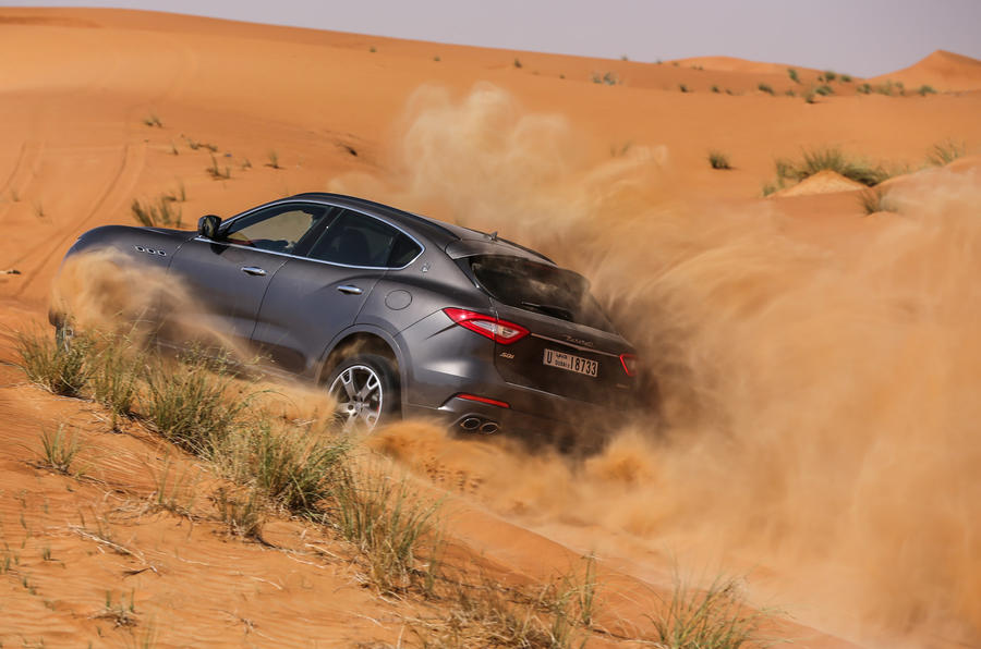 Maserati Levante S GranSport off-roading