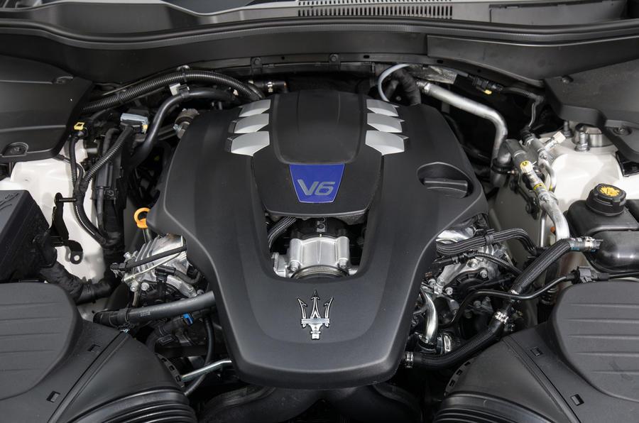 3.0-litre V6 Maserati Levante S GranSport petrol engine