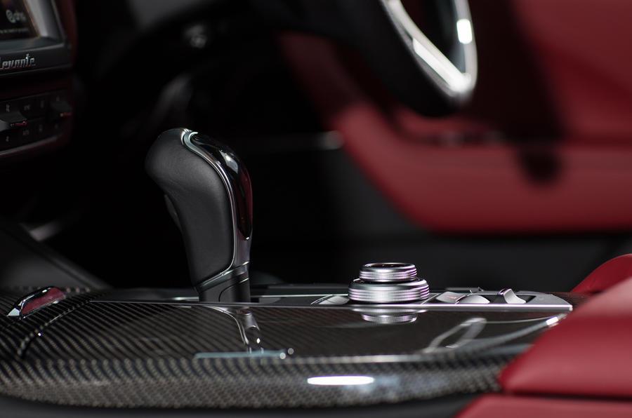 Maserati Levante S GranSport automatic gearbox