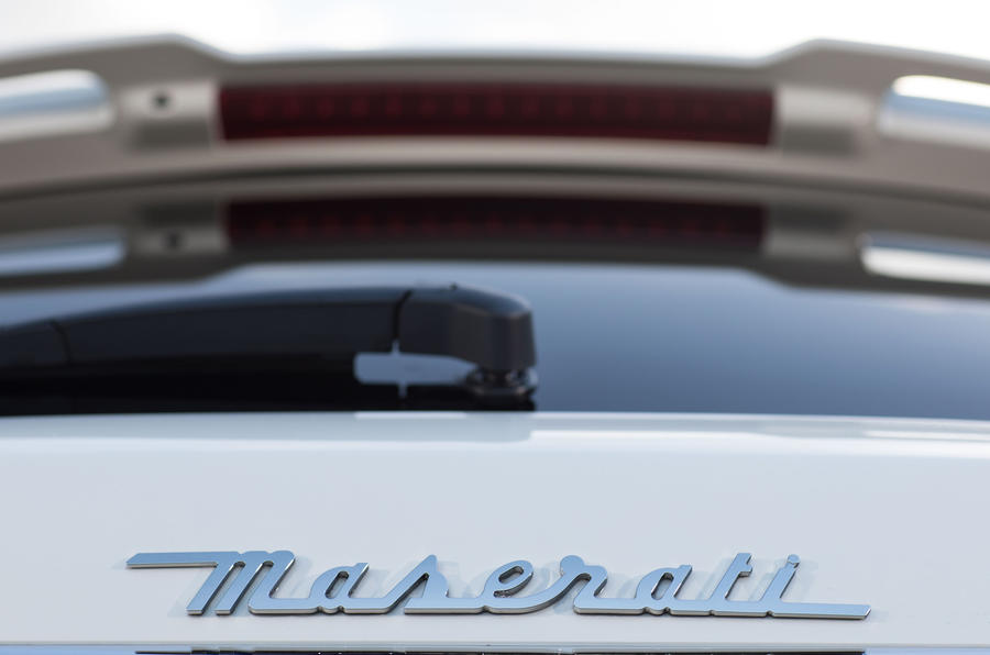 Maserati Levante S GranSport badging