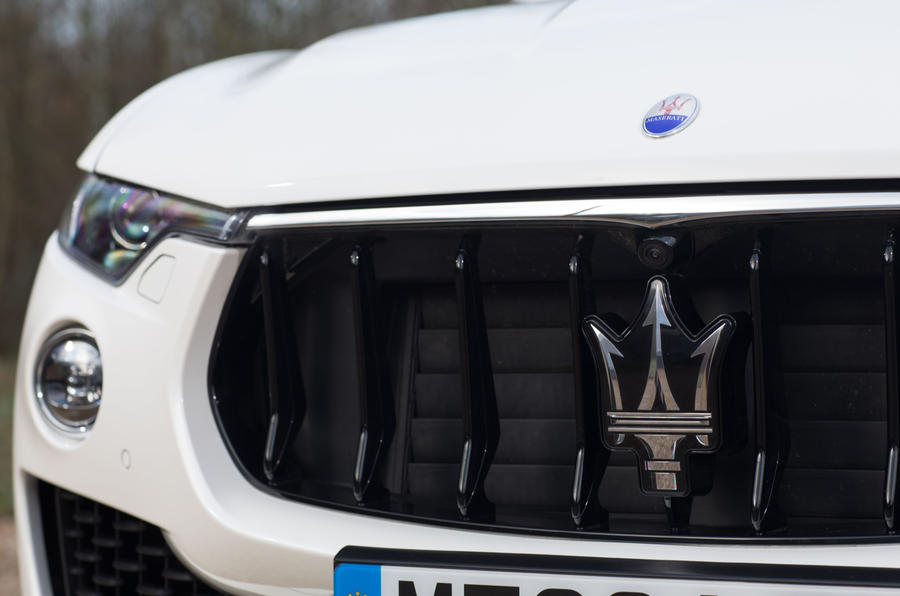 Maserati Levante S GranSport front grille