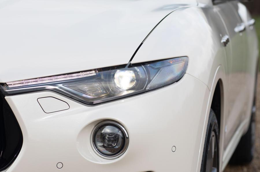 Maserati Levante S GranSport headlights