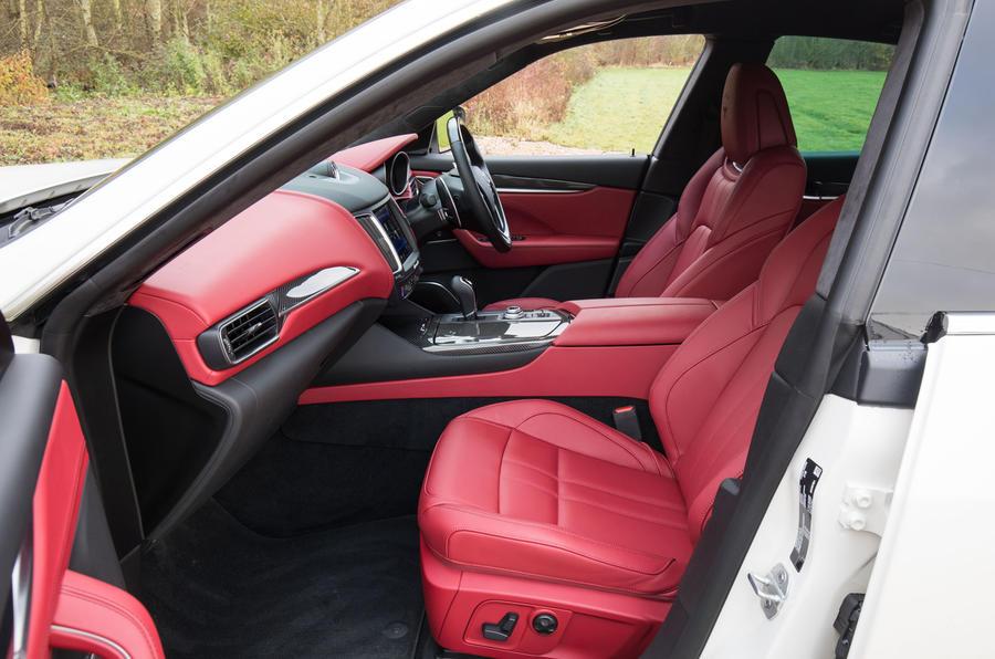 Maserati Levante S GranSport interior