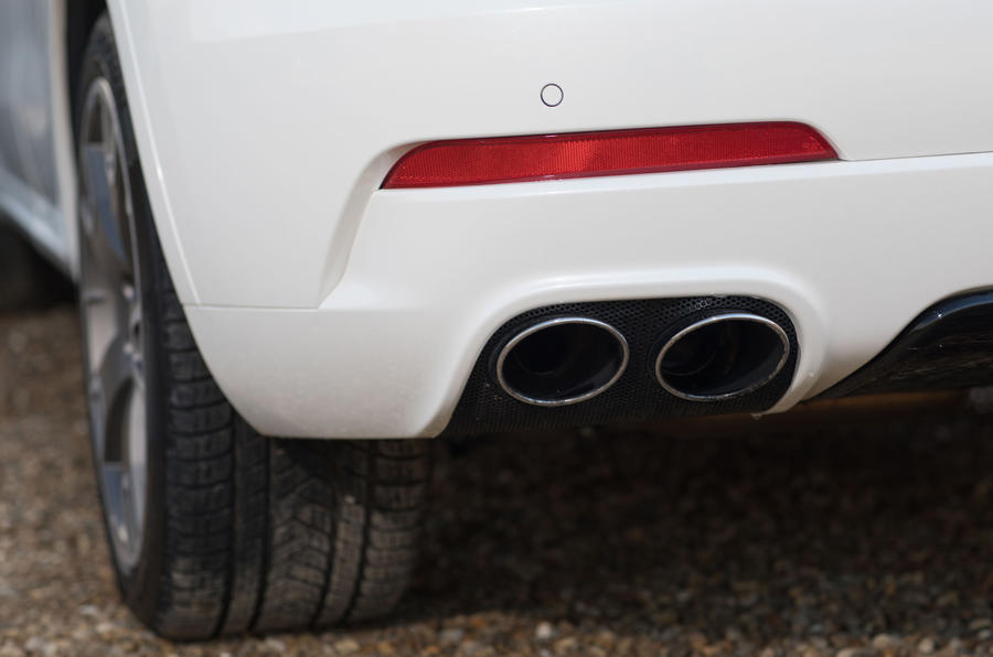 Maserati Levante S GranSport quad exhaust