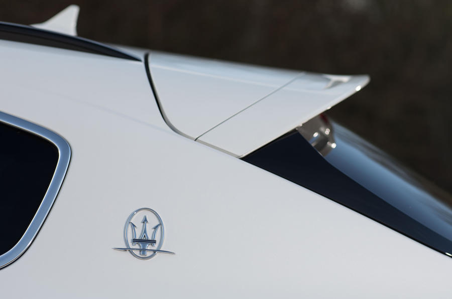 Maserati Levante S GranSport rear spoiler