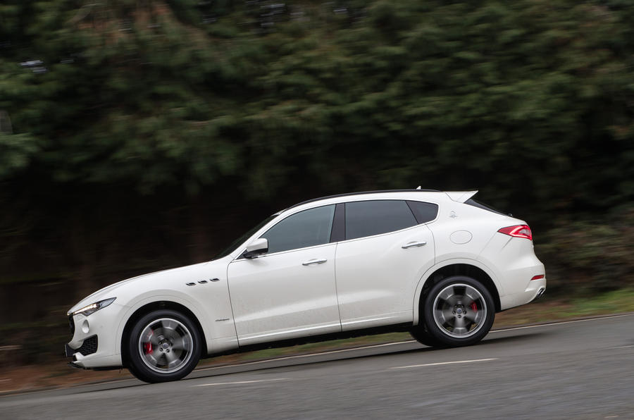 Maserati Levante S GranSport side profile