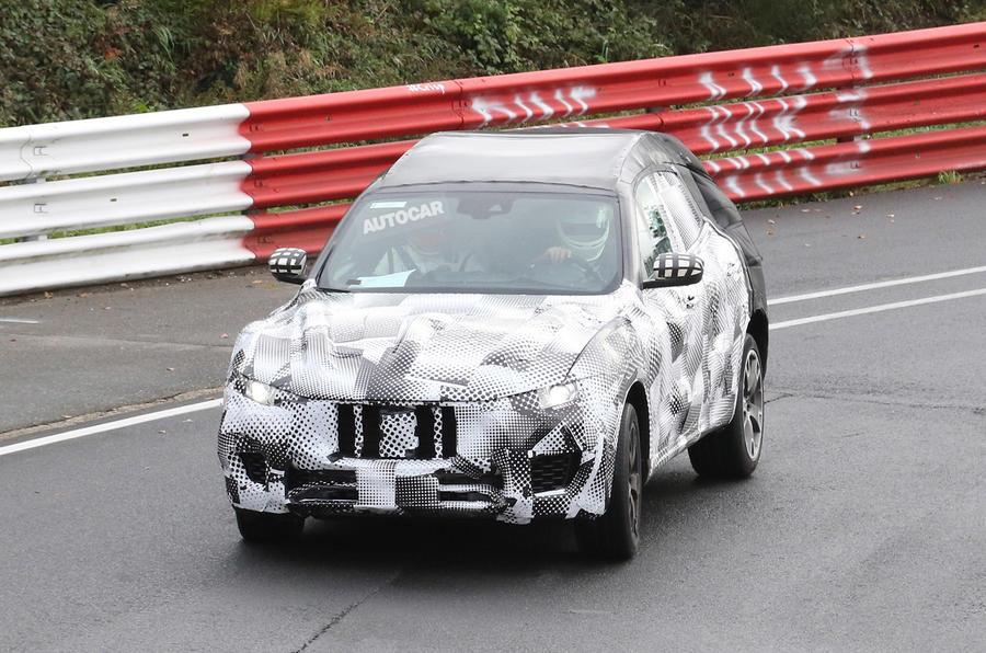 Maserati Levante front