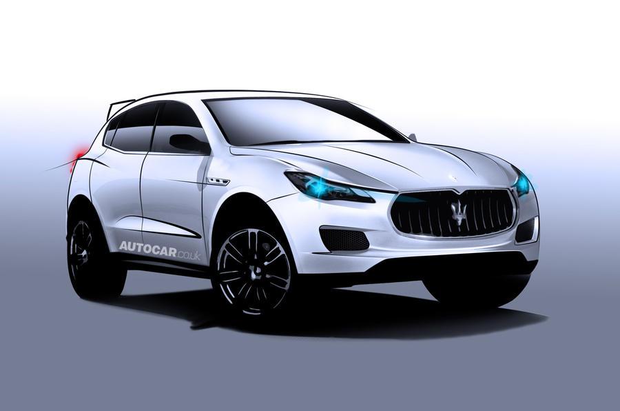Maserati Levante rendering