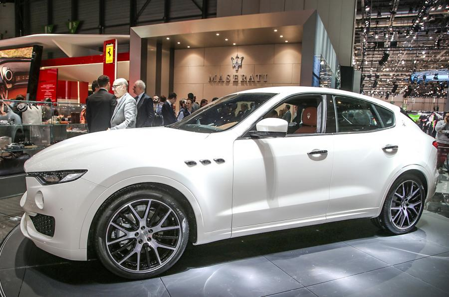 maserati levante on sale in uk from £54,335 | autocar